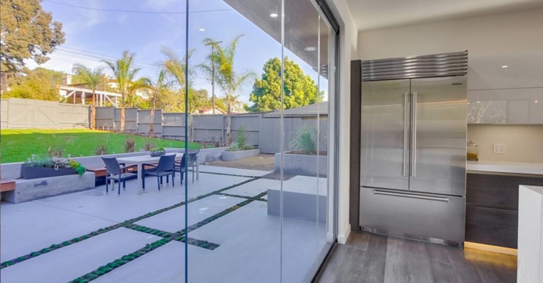 frameless sliding glass patio doors