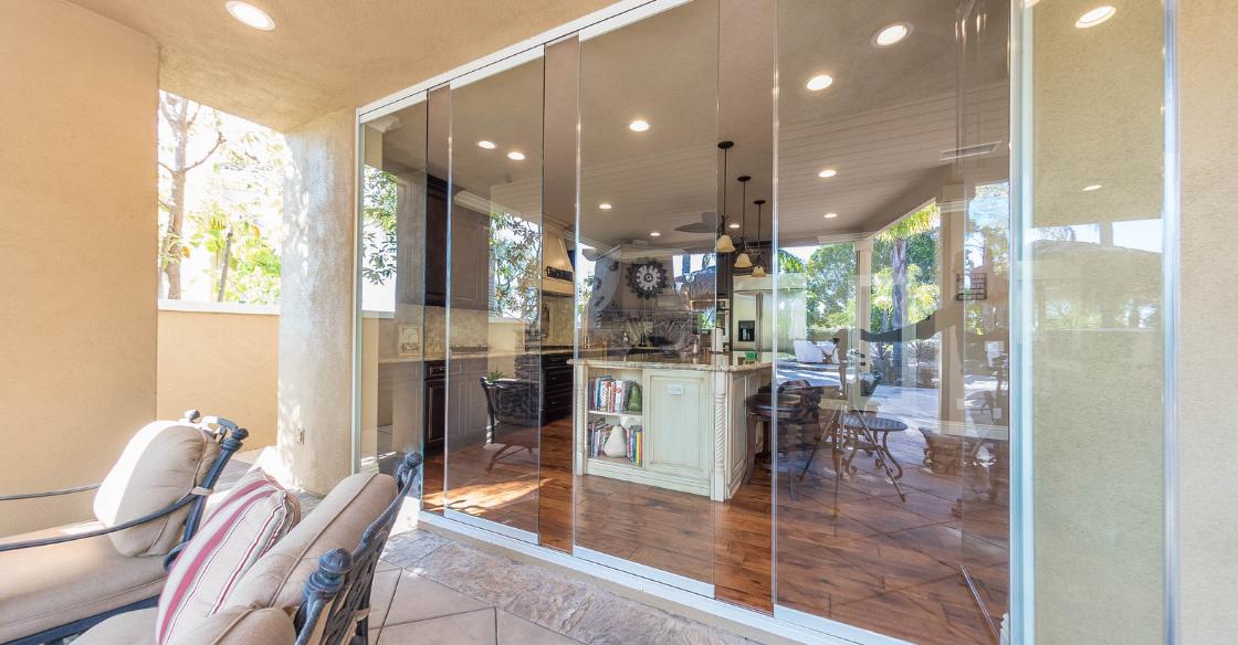 Cover Glass frameless doors