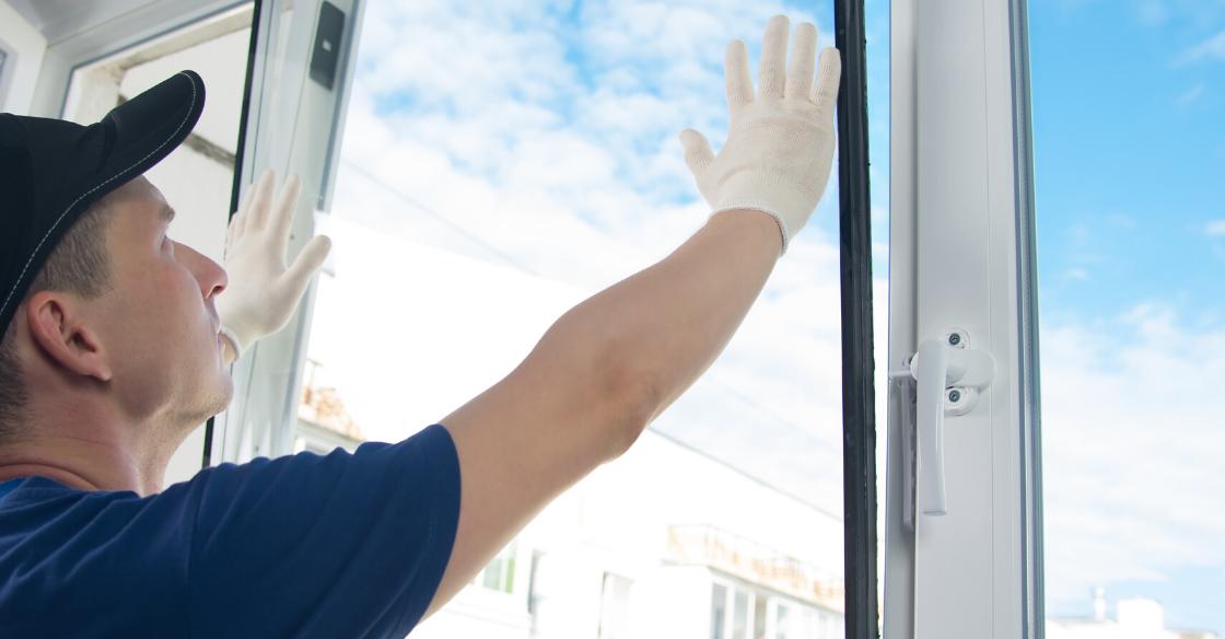 Expert glass door installation