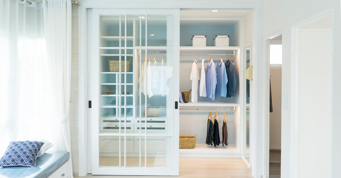 luxurious closet