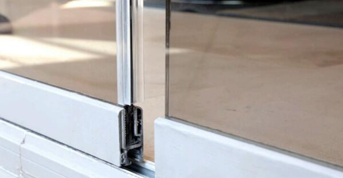 Cover glass doors with interlocking channels