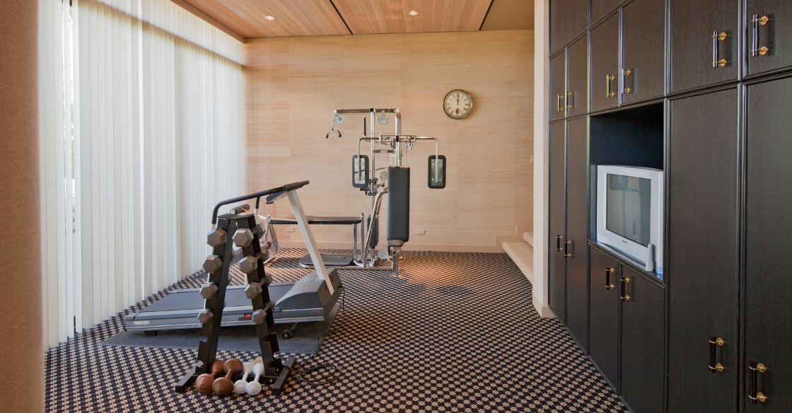Luxe home gym