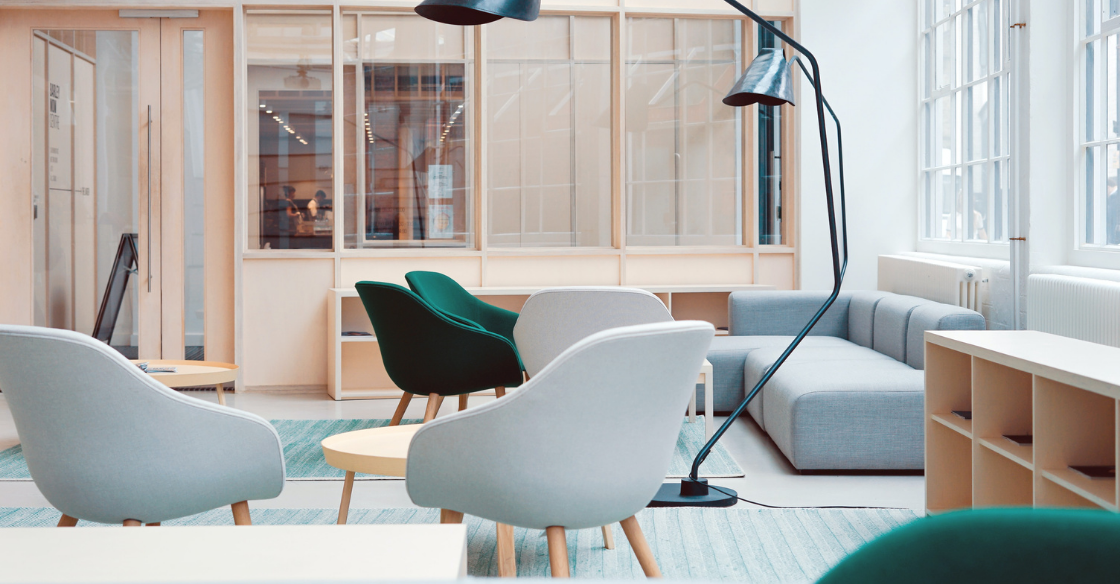 Modern designed office space
