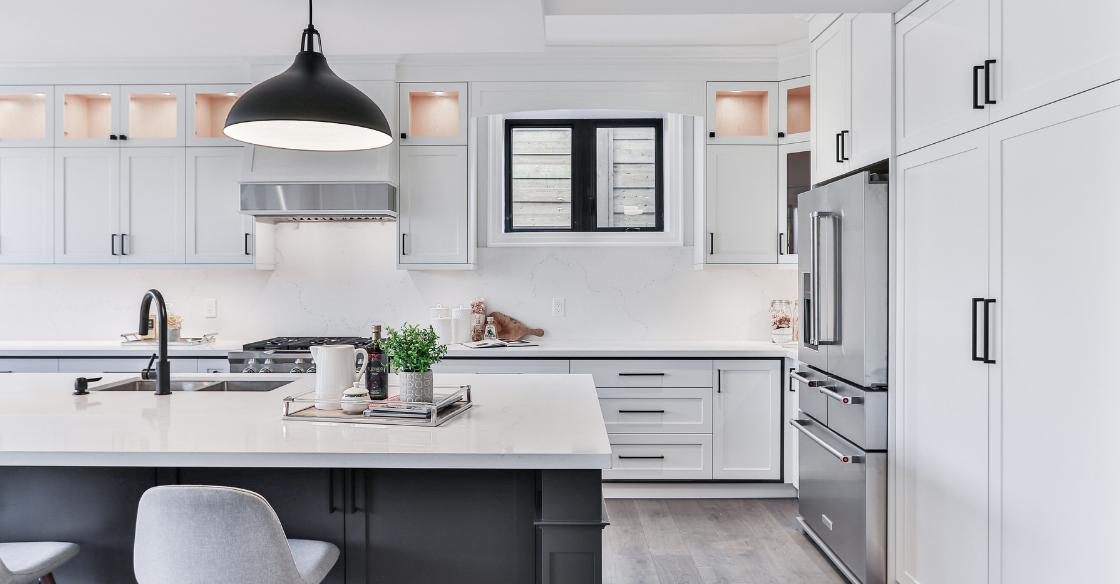 modern, newly remodeled kitchen