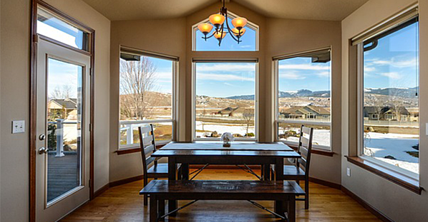 dining room standard glass windows