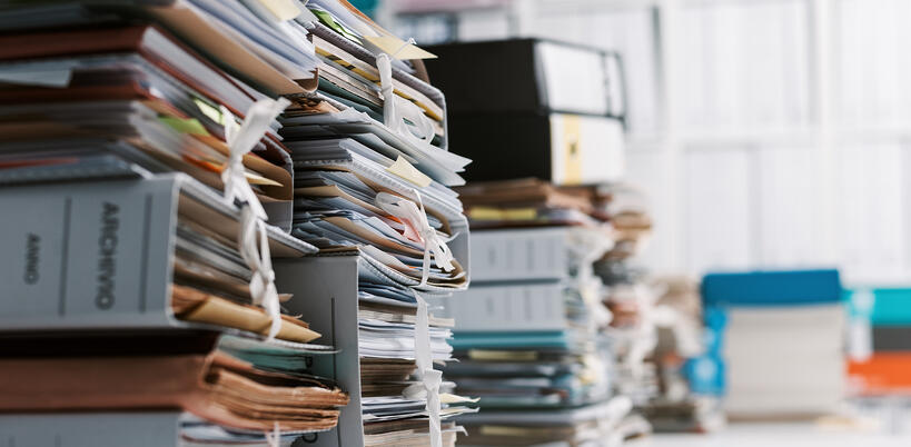 Excessive Paperwork in Construction Projects