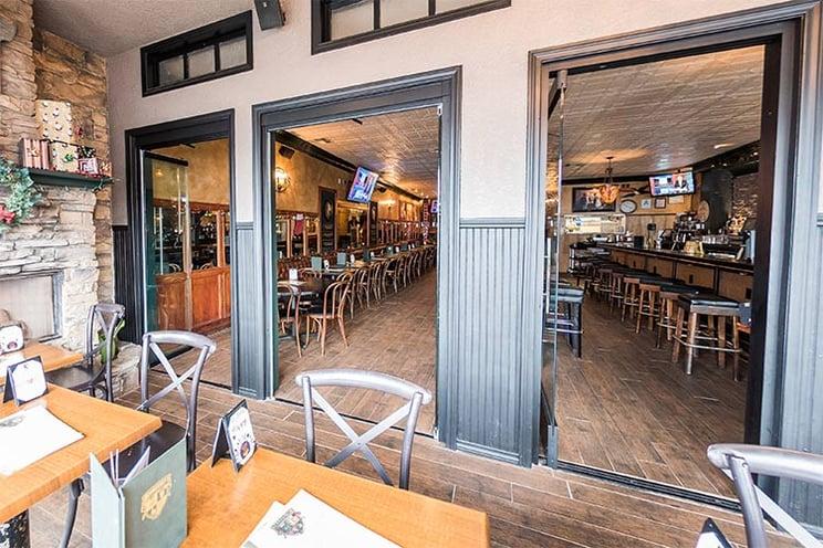 Hennessy's San Diego, CA | Frameless Sliding Glass Doors