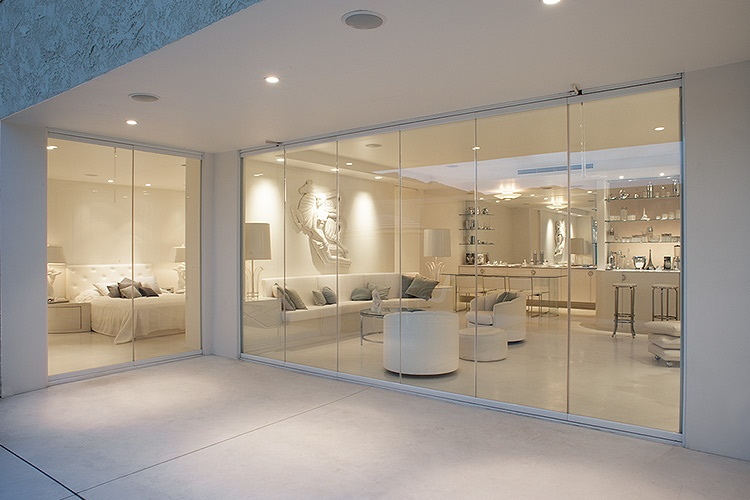 Home Modern Luxury and Style | Cover Glass USA | Frameless Sliding Glass Door Systems