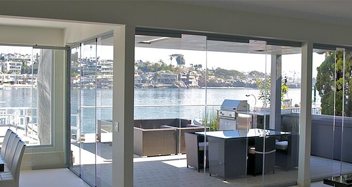 Flexible Space | Cover Glass USA | Frameless Sliding Glass Door Systems