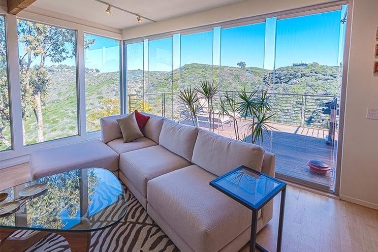 Summer proof home design | Cover Glass USA | frameless sliding glass doors