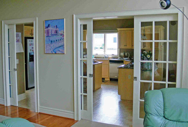 Types of doors, pocket doors