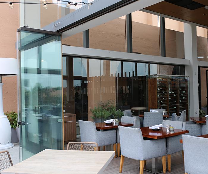 Frameless Glass Doors that Slide