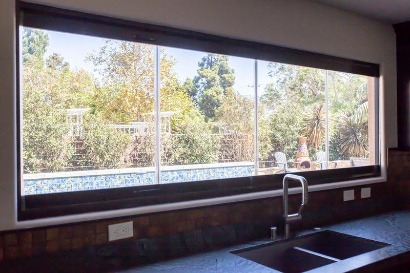 Kitchen Frameless Glass