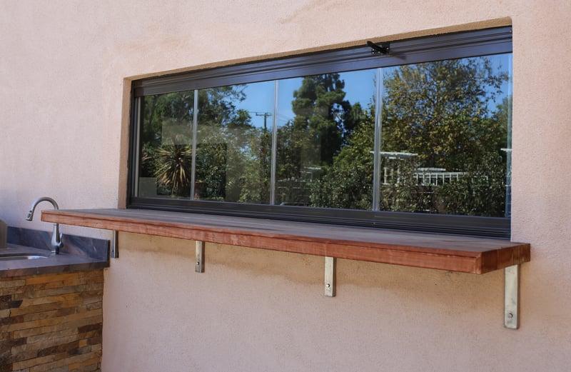 frameless glass kitchens