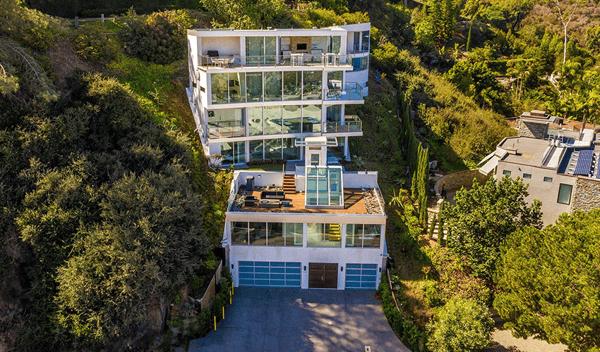 glass house La Jolla