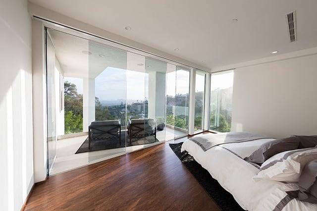 dream master suite design, private balcony