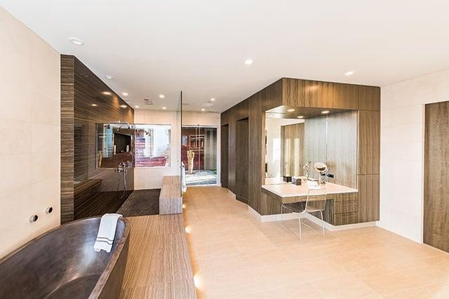 dream master suite design, master bathroom