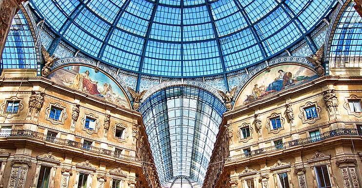 Galleria Milano, record breaking windows