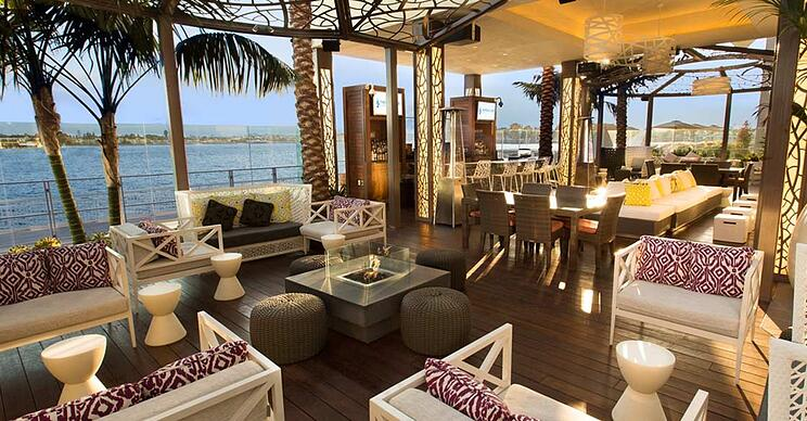 Luxury hotels San Diego, outdoor spaces
