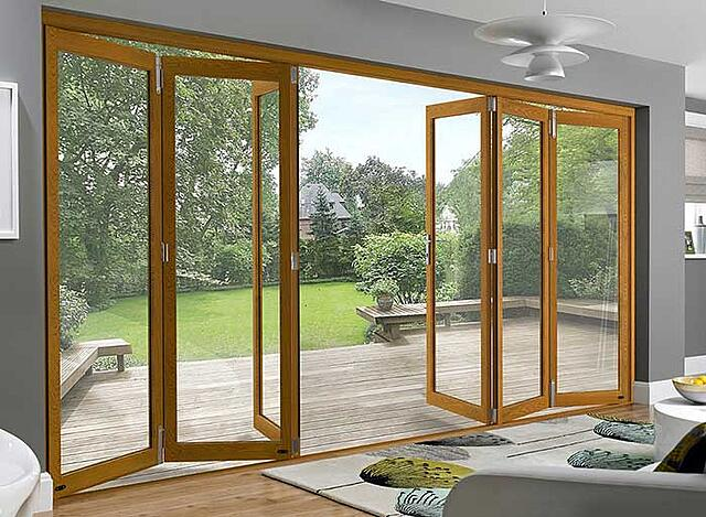 Types of doors, folding doors