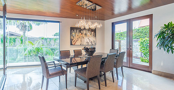 glass system home dining