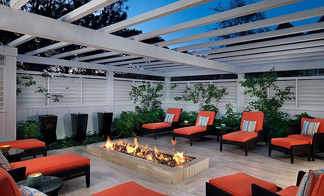 outdoor spaces, luxury hotel, San Diego