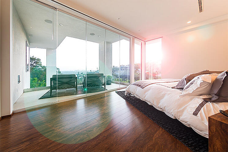 Los Angeles Skyline | Cover Glass USA | sliding glass walls