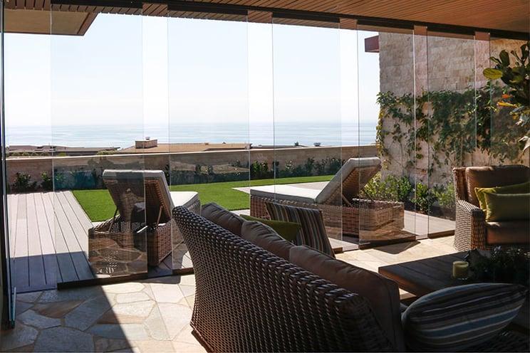 Summer Cool So Cal | Cover Glass USA | sliding glass walls