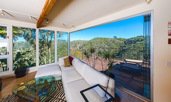 The Perfect Panoramic Outdoor View with Frameless Sliding Glass Wall Systems   Cover Glass USA
