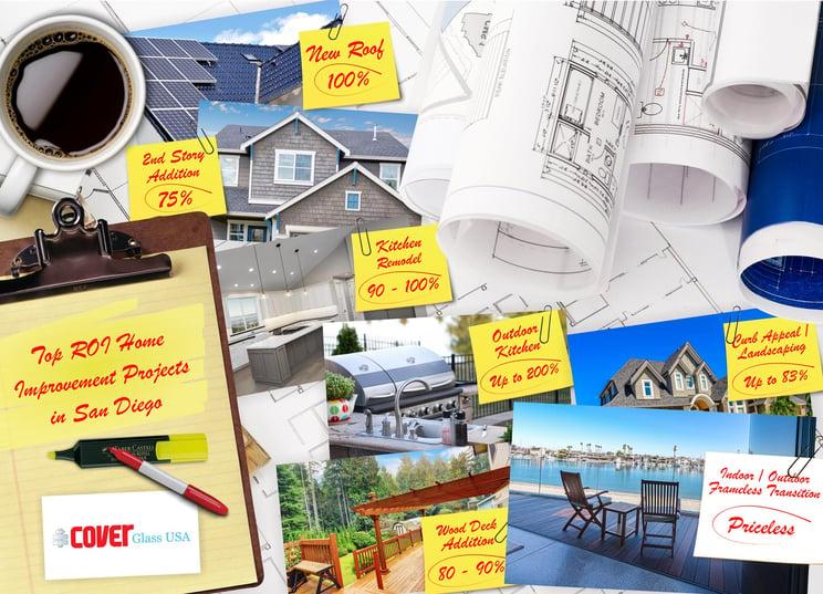 San Diego Home Improvements ROI | Cover Glass USA