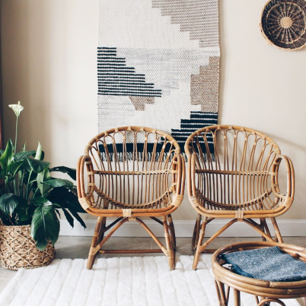 texas interior design trends 2019 rattan furniture
