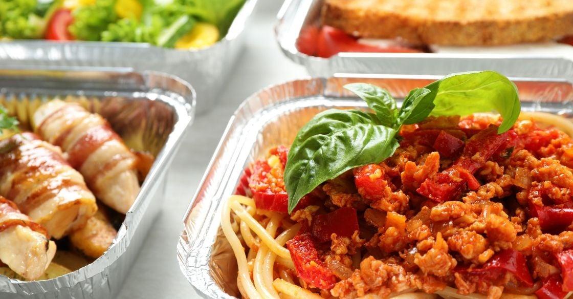 Takeout Italian food