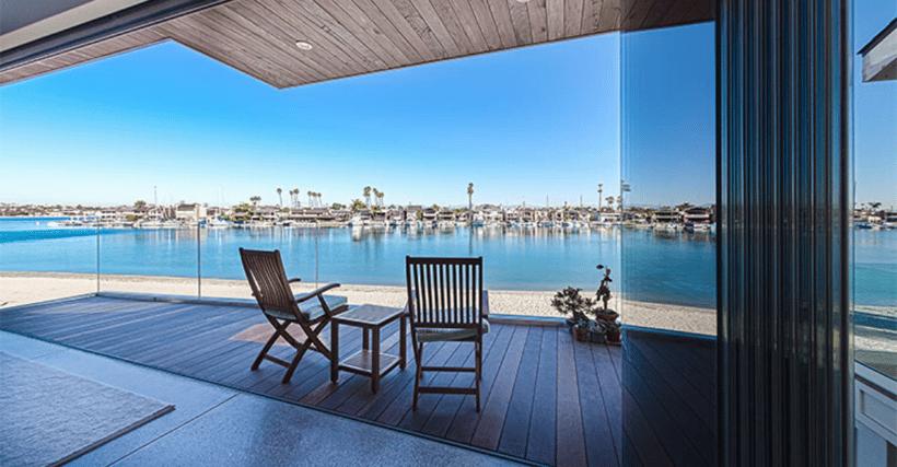 Open Cover Glass windows for indoor/outdoor living