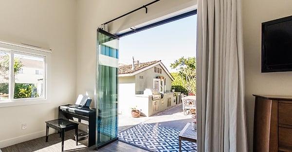 benefits frameless sliding doors