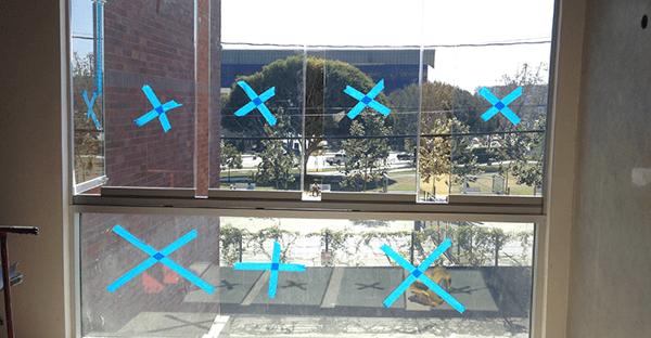 installation process frameless sliding glass