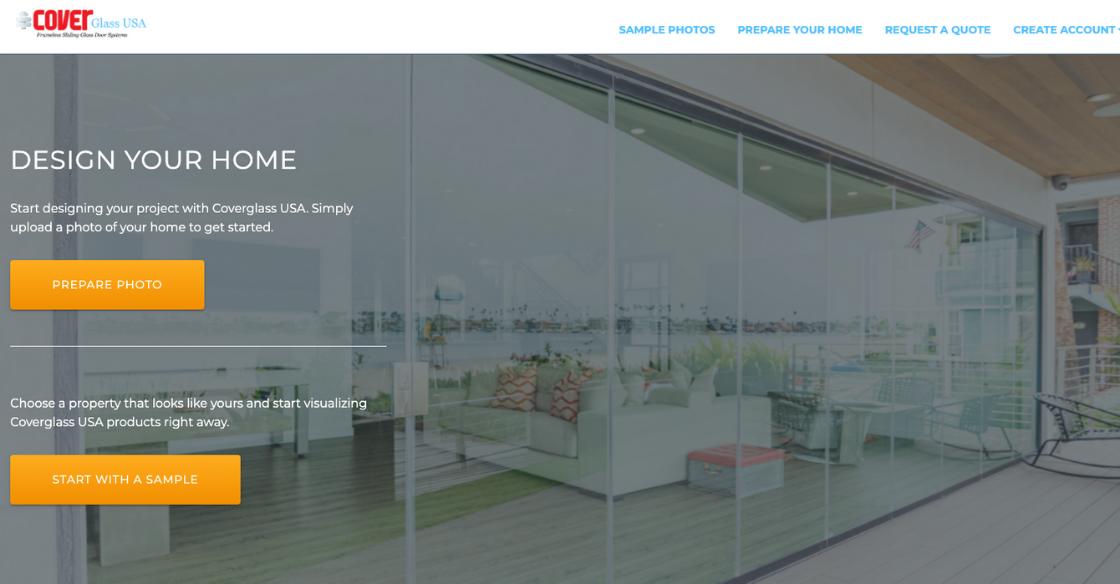 Cover Glass USA Visualizer Home Screen