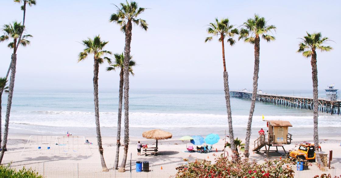 Beach Southern California