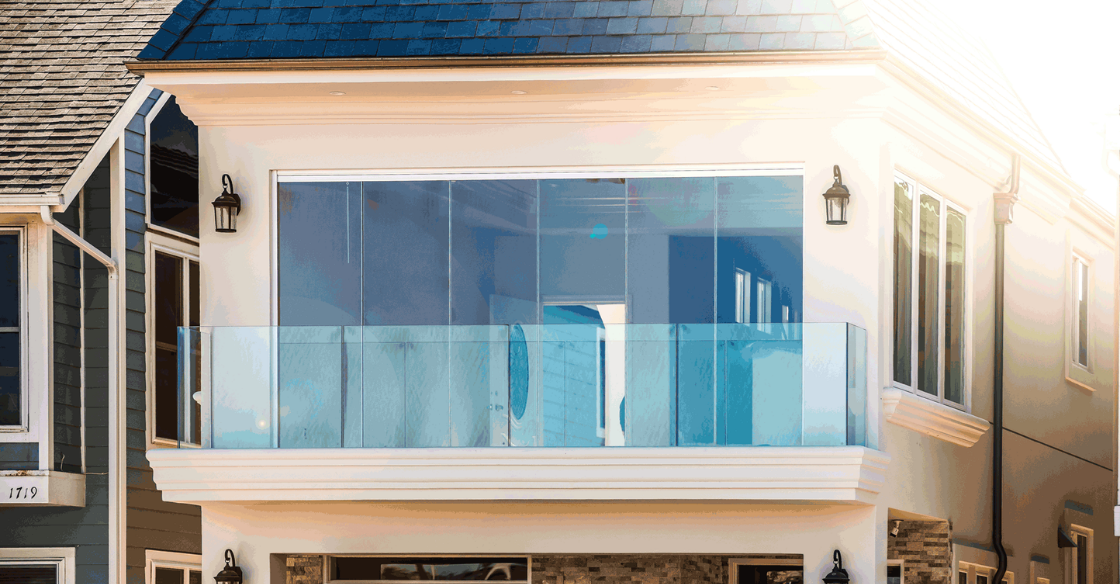 Cover Glass doors with low-e coating