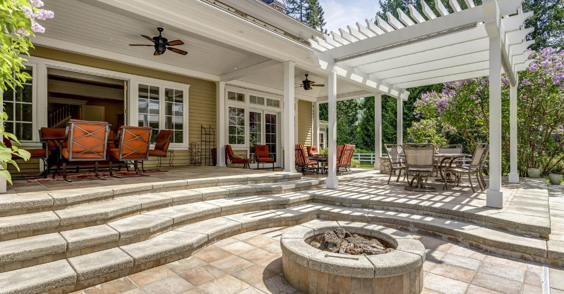 Welcoming outdoor space