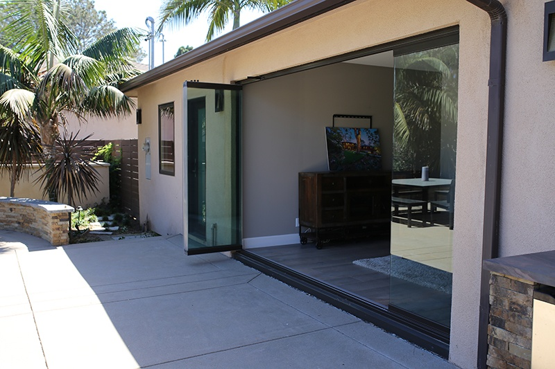 patio exterior glass