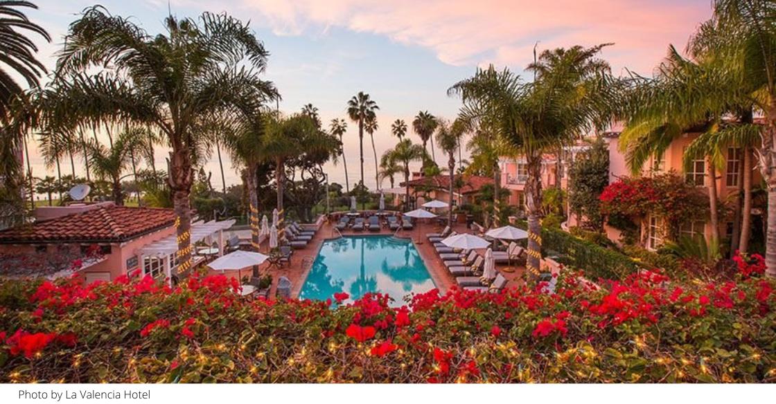 La Valencia Hotel, La Jolla, CA