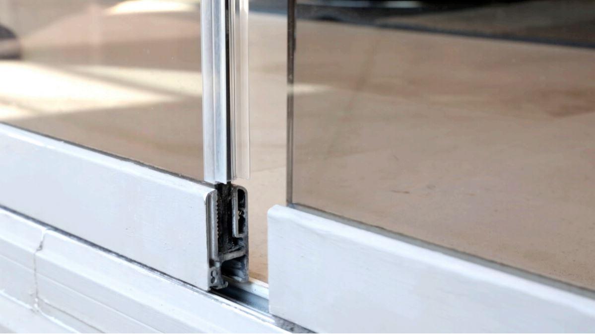 Sliding Glass Door Gap Fix Glass Door Ideas